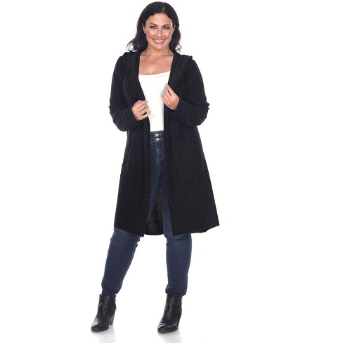 Women's Plus Size North Cardigan - One Size Fits Most Plus - White Mark - image 1 of 3