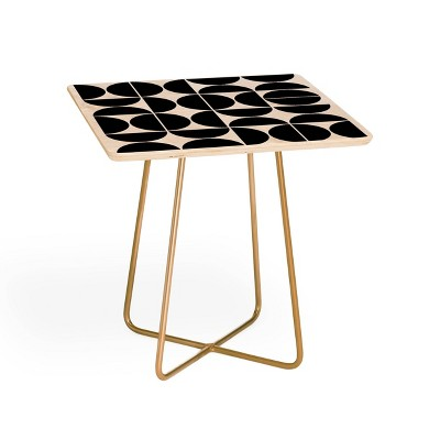 The Old Art Studio Mid-Century Modern Side Square Table - Deny Designs
