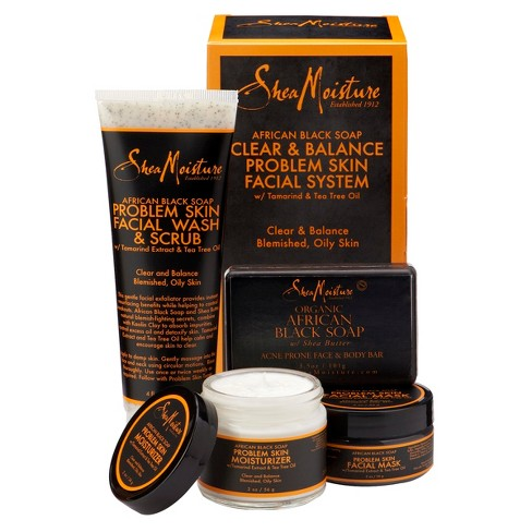 SheaMoisture African Black Soap Acne Care Kit - image 1 of 5