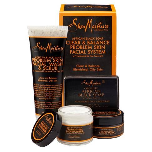 Sheamoisture African Black Soap Acne Care Kit Target