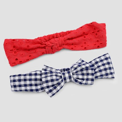 Baby Girls' 2pk Headwrap - Just One You® made by carter's One Size