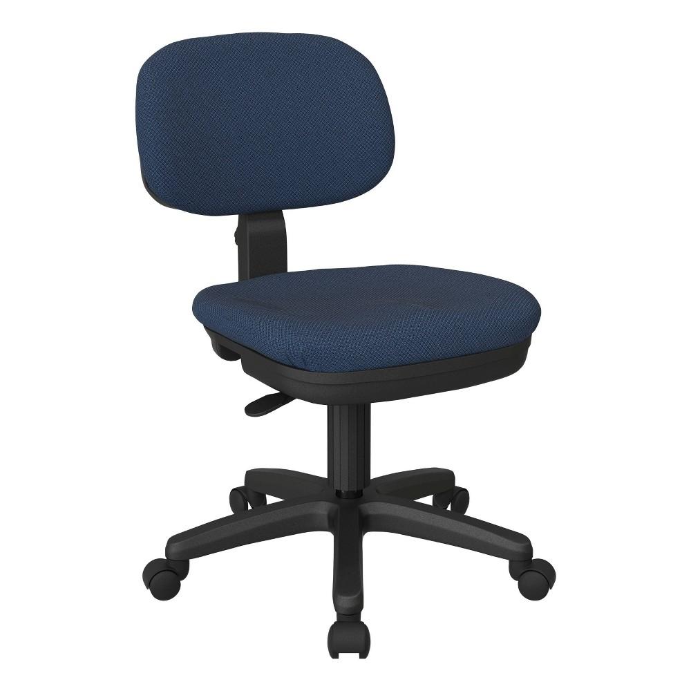 Basic Task Chair Diamond Galaxy Blue Osp Home Furnishings