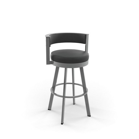 """Amisco Browser 30"""" Bar Stool with Upholstered Seat - image 1 of 2"""
