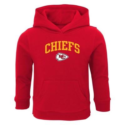 NFL Kansas City Chiefs Toddler Boys' Touchdown Poly Fleece Hoodie - 18M