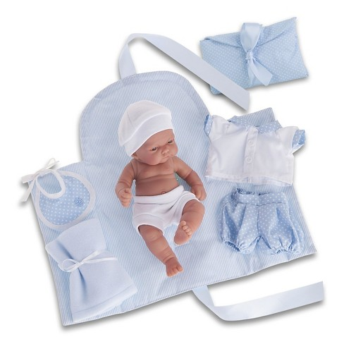 "Antonio Juan Pitu 10.5"" Baby Boy Doll With Changing Pad - image 1 of 1"