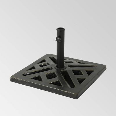 31lb Tally Circular Concrete Umbrella Base Bronze - Christopher Knight Home