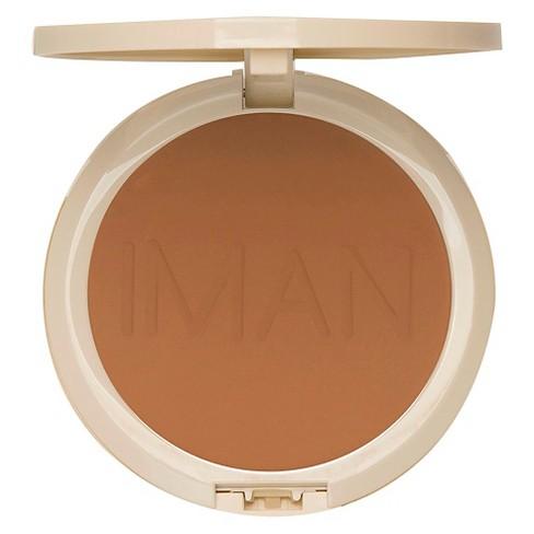 Iman Perfect Response Oil Blot Powder Target