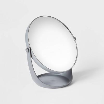 Plastic Vanity Mirror Gray - Room Essentials™