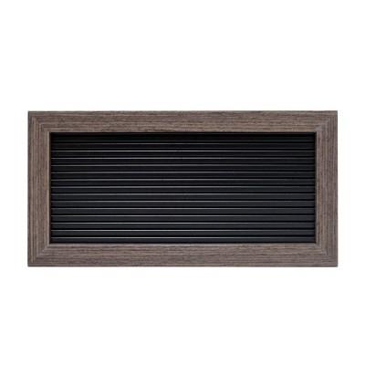 10 x5  Mini Letter Board Decorative Wall Art Gray - Room Essentials™