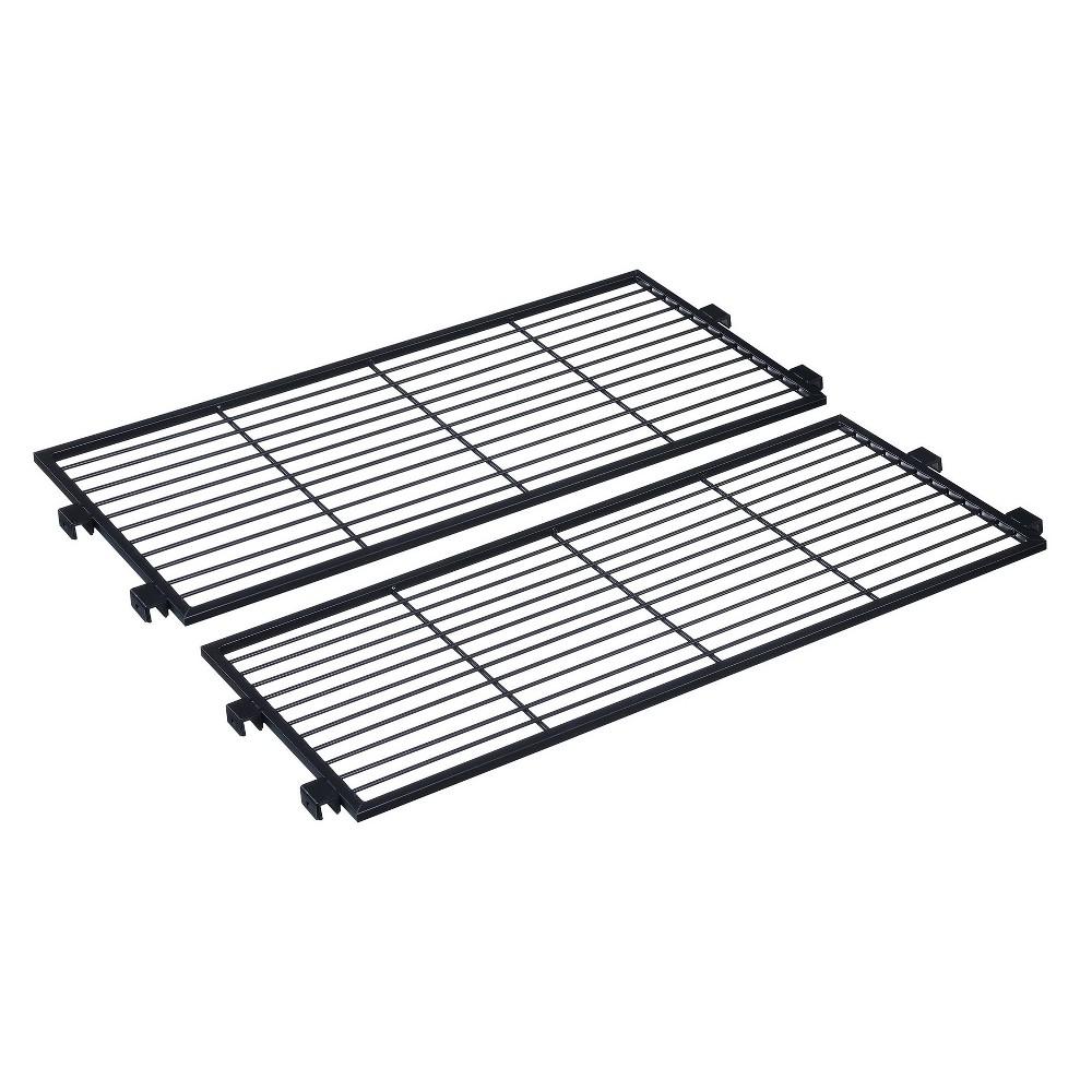 Xtra Storage 2 Shelf Connector Kit - Black - Johar Furniture