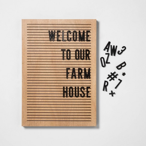 Letter Board - Hearth & Hand™ with Magnolia - image 1 of 3