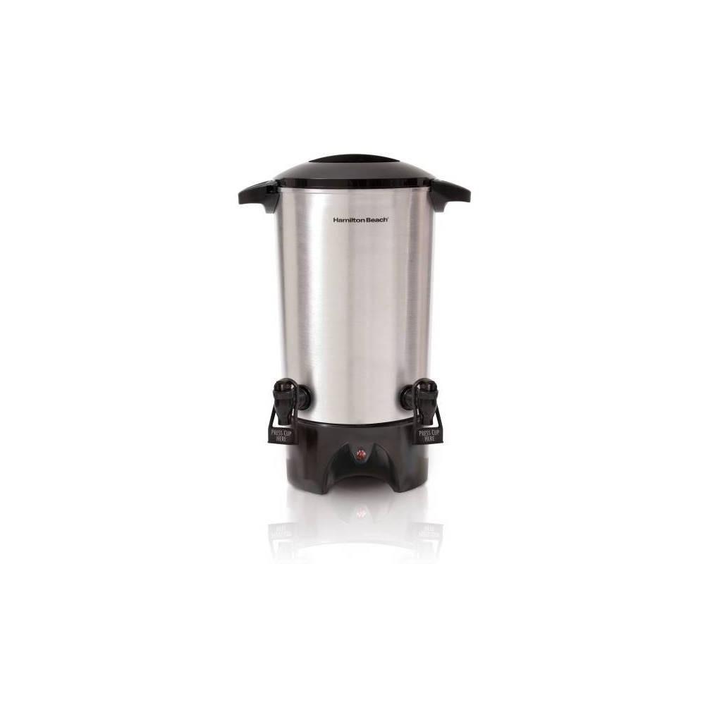 Image of Hamilton Beach Coffee and Espresso Machine - Silver