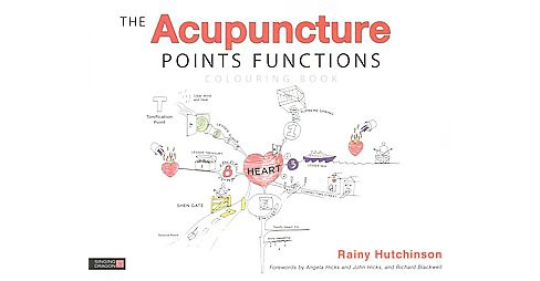 Acupuncture Points Functions Colouring Book (Paperback) (Rainy Hutchinson) - image 1 of 1