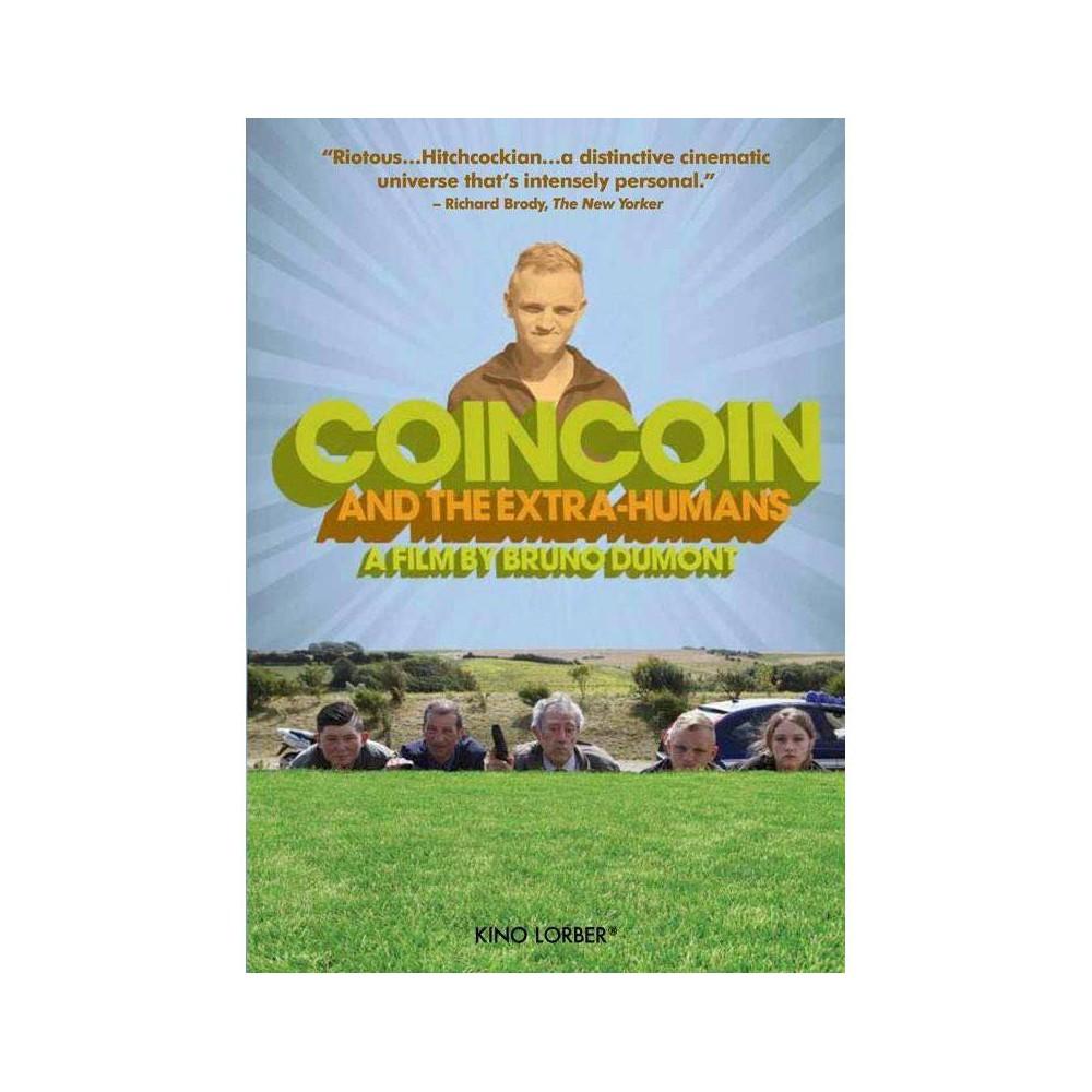 Coincoin The Extra Humans Dvd