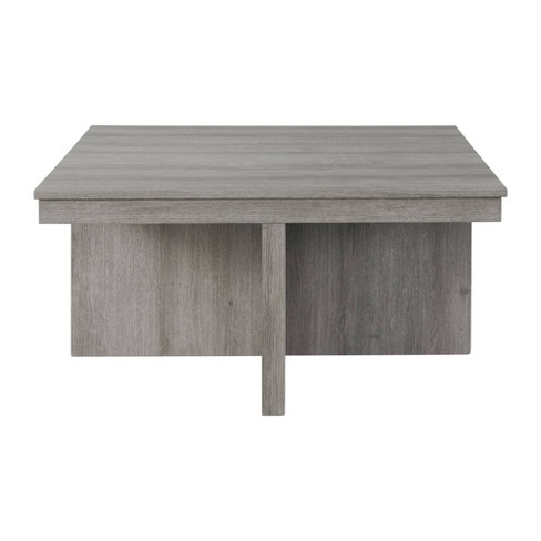 Dawson Coffee Table With 4 Storage Stools Gray Picket House Furnishings Target