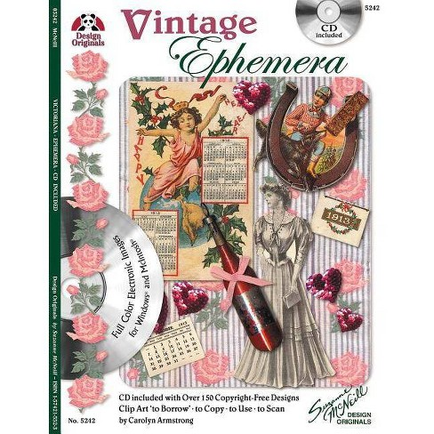 Vintage Ephemera with CD - by  Carolyn Armstrong (Paperback) - image 1 of 1