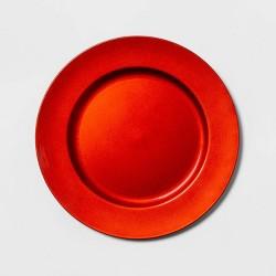 "12.9"" Plastic Round Decorative Charger - Threshold™"