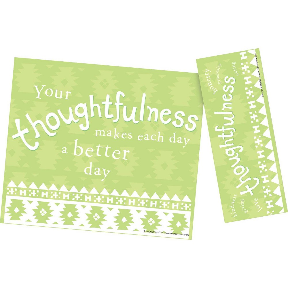 Image of Barker Creek 120pc Celebrate Thoughtfulness Awards and Bookmarks Set