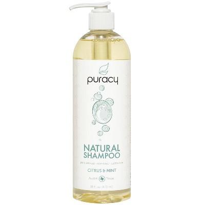 Puracy Citrus & Mint Sulfate-Free Natural Daily Shampoo - 16 fl oz