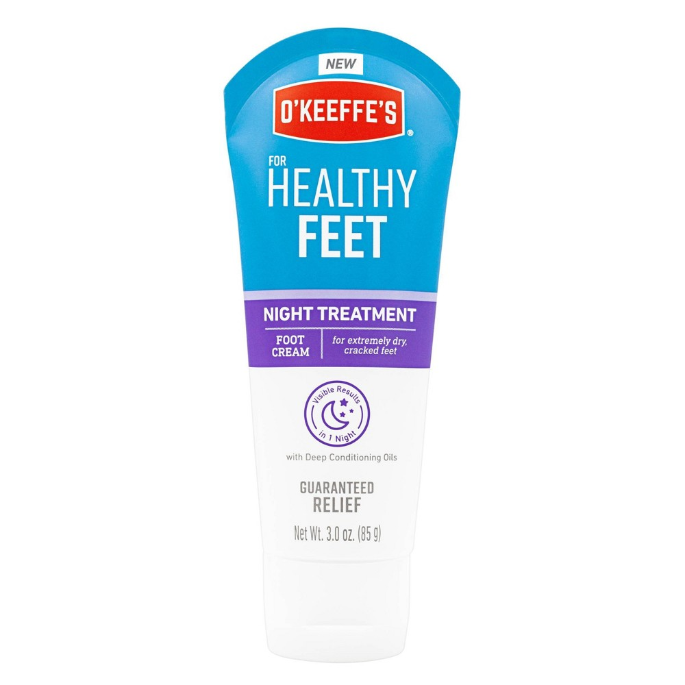 Image of O'Keeffe's Healthy Feet Night Treatment - 3oz