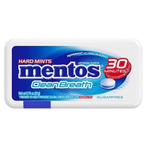 Mentos Clean Breath Peppermint - 0.74oz - image 1 of 3
