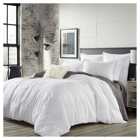 White Courtney Comforter Set   City Scene® : Target