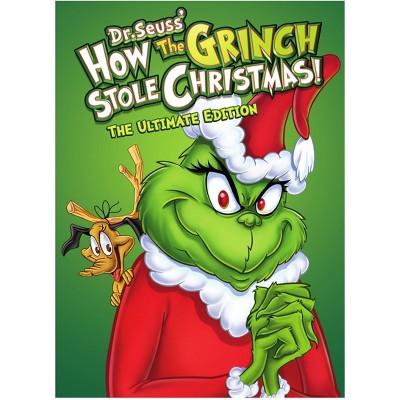 How The Grinch Stole Christmas: The Ultimate Edition (Dvd) by Warner