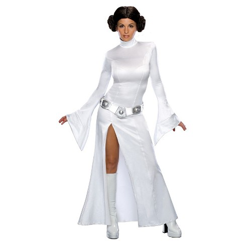 Star Wars Princess Leia Women S Costume White L Target
