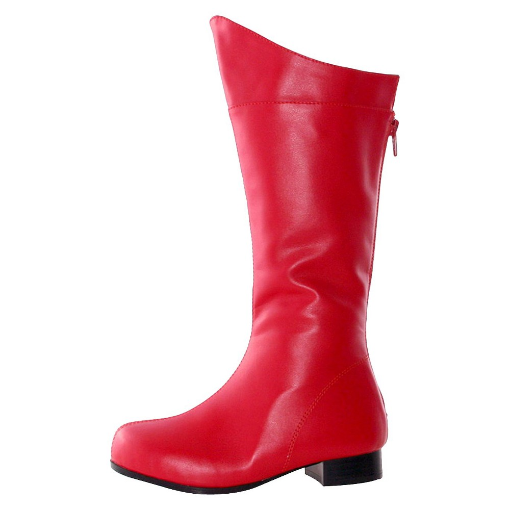 Image of Halloween Shazam Boys' Boots Red Costume - Large, Boy's