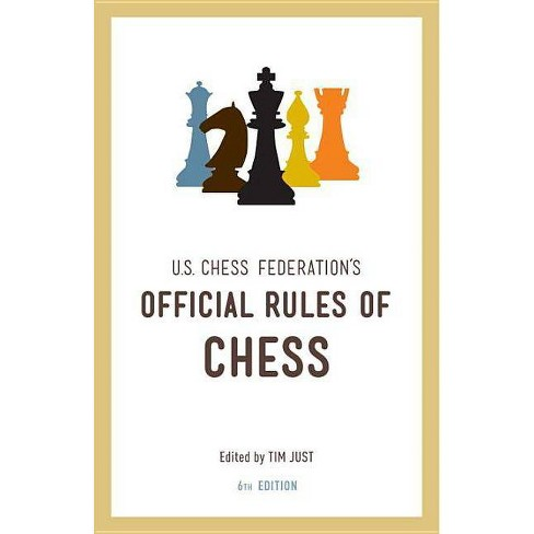 U.S. Chess Federation's Official Rules of Chess - 6 Edition (Paperback) - image 1 of 1