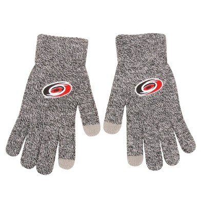 NHL Carolina Hurricanes Knit Gloves - Gray