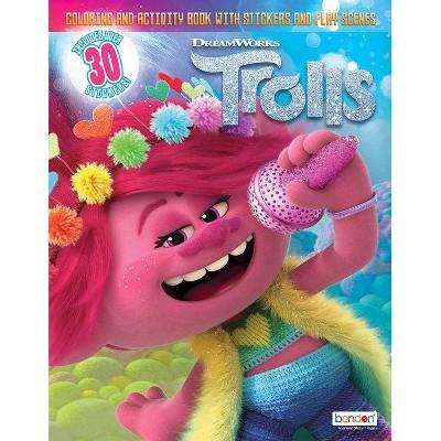 Trolls 2 Mini Sticker Scene Plus