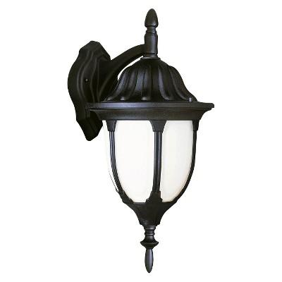 """Rothschild 13"""" Coach Outdoor Lantern In Black"""