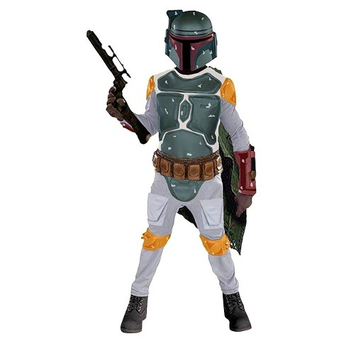 Brand New Star Wars Boba Fett Adult Costume