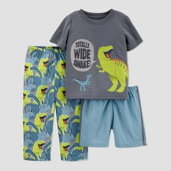 Baby Boys' 3pc Dino Pajama Set - Just One You® made by carter's Green