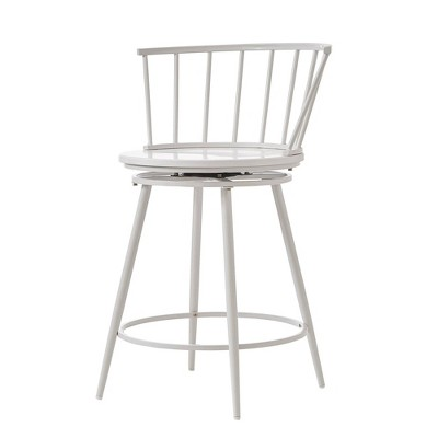 """24"""" Set Of 2 Norfolk Low Windsor Counter Stool   Inspire Q by Inspire Q"""