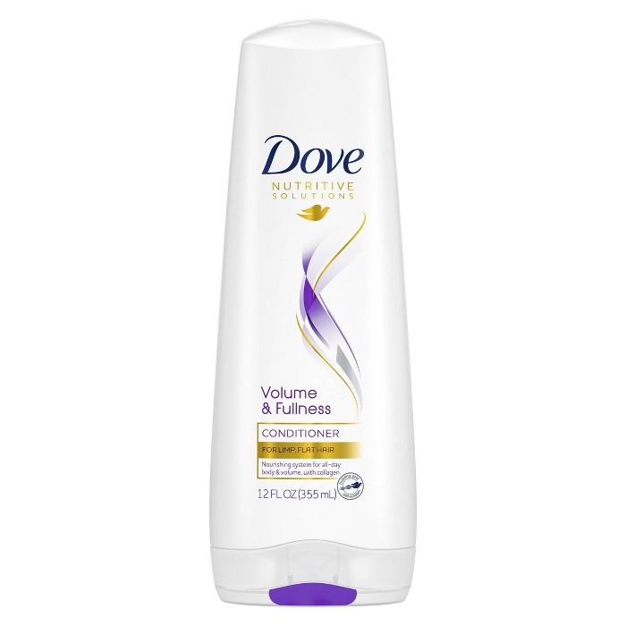 Dove Beauty Volume And Fullness Conditioner - 12 Fl Oz : Target