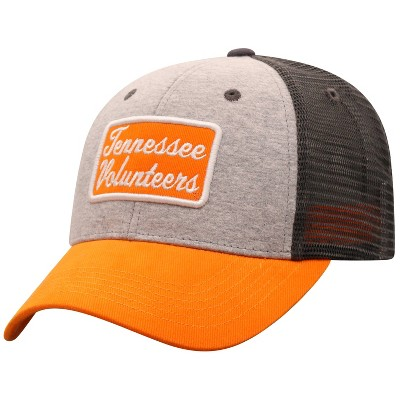 NCAA Tennessee Volunteers Men's Gray Cotton with Mesh Snapback Hat