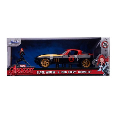 Hollywood Rides Marvel - 1966 Chevy Corvette - 1:24 Scale