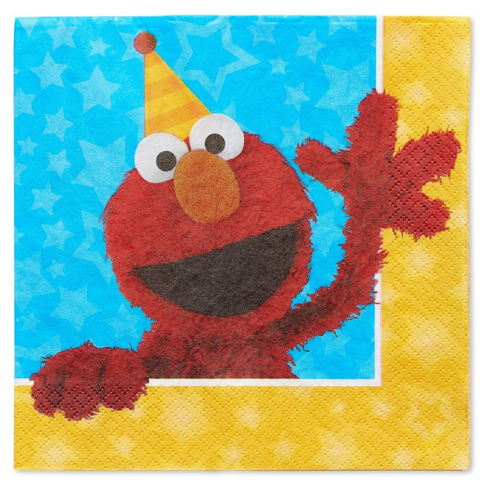 Image of 16ct Sesame Street Lunch Napkins