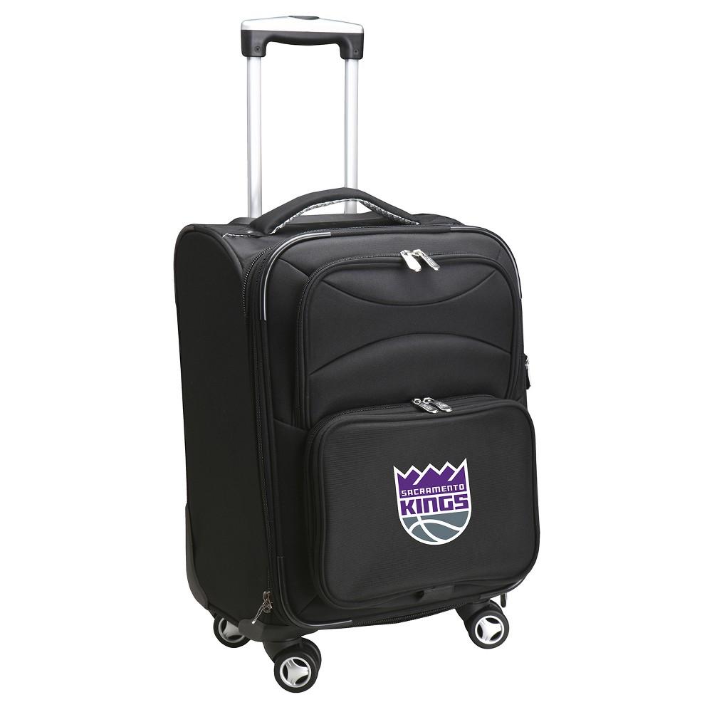 NBA Sacramento Kings Mojo Spinner Carry On Suitcase