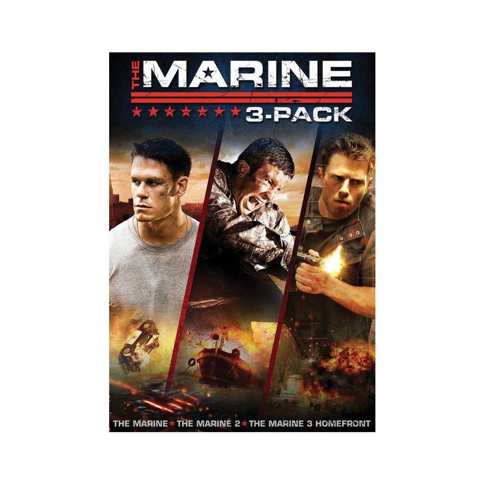 The Marine The Marine 2 The Marine 3 Homefront Dvd 2014