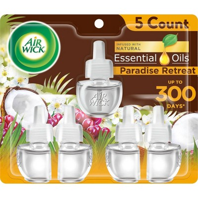 Air Wick Scented Oil - Refill Paradise Retreat - 3.35oz