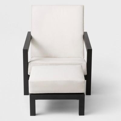 Asti Adirondack Patio Club Chair &Amp; Ottoman Set   Project 62 by Project 62