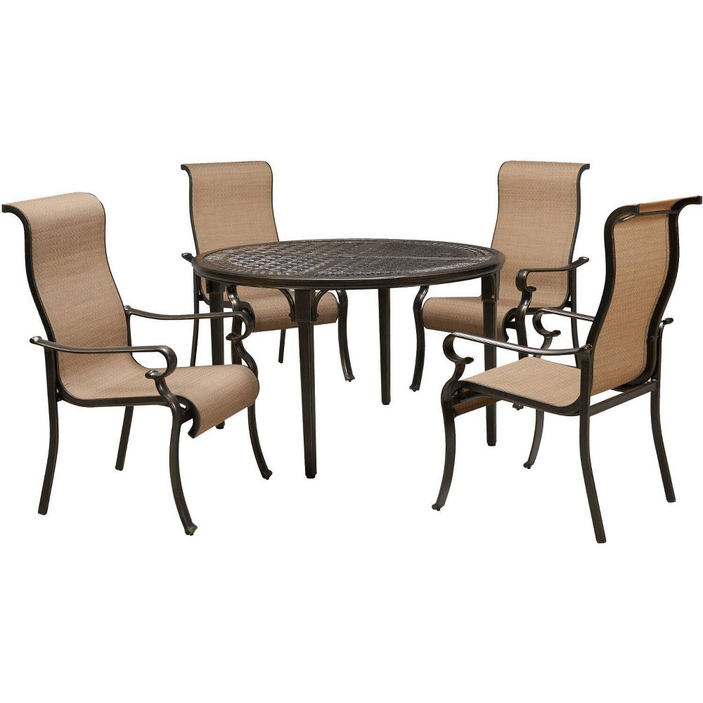 Image of Brigantine 5pc Sling Dining Set - Hanover