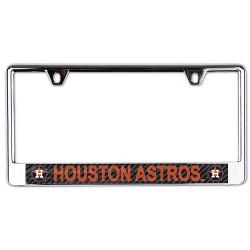 MLB Houston Astros Metal License Plate Frame