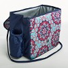 Fit & Fresh Winona Lunch Tote - Pink & Aqua Bloom Tile - image 4 of 4