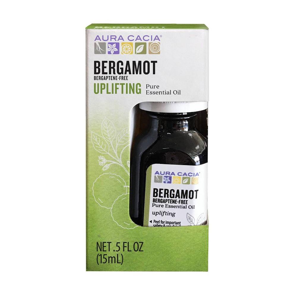 Image of Aura Cacia Bergamot Uplifting Pure Essential Oil - 0.5 fl oz