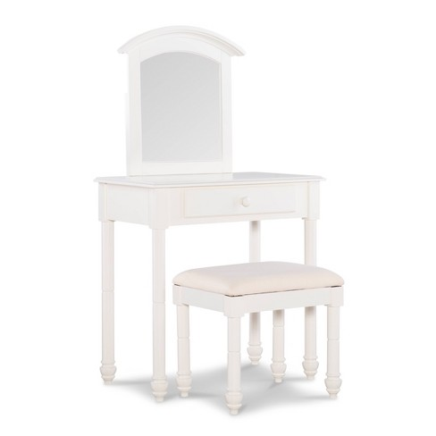 Gabriel Vanity with Stool White - Powell Company - image 1 of 4