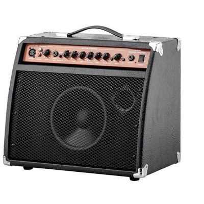 Monoprice 20-Watt Acoustic Guitar Amplifier, 3-Band EQ With Frequency Selector, Perfect For Both Practice and Small Gigs - Stage Right Series